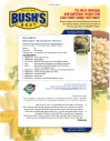 Back panel, Bushs Beans recipe flyer. 2006.