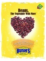 Front, Bushs Beans recipe flyer. 2006.