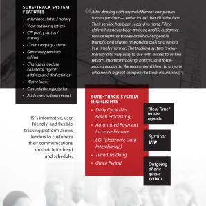 Interior page from 2013 ISI marketing brochure
