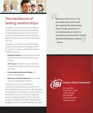"2 panels of ""why ISI?"" brochure"