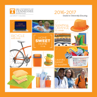 UT Housing Guidebook for students, 2016-2017.