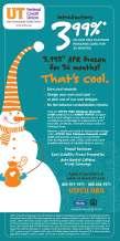 UTFCU Frozen Campaign Full Page Ad