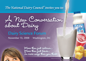 Dairy Science Forum invitation, Foodminds