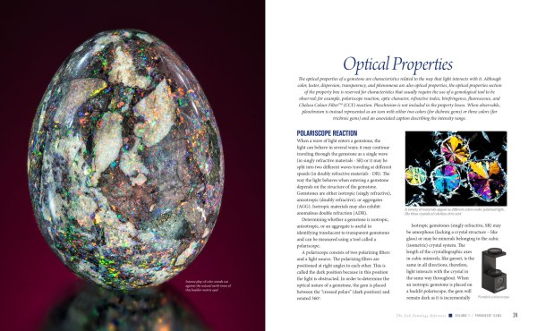 JSGR Optical Properties spread