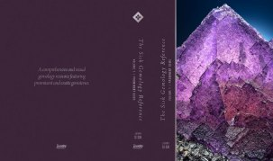 Cover design for back and front of for Sisk Gemology Reference Book. Publication in 2016.